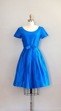 vintage 1950s Azurina dress  #retro #vintage #feminine #designer #classic #fashion #dress #highendvintage