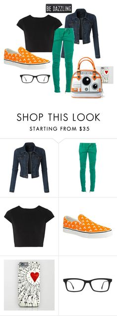 """""""ready4thewknd ;)"""" by marjoriejfp on Polyvore featuring LE3NO, Balmain, Alice + Olivia, Ray-Ban, women's clothing, women's fashion, women, female, woman and misses"""