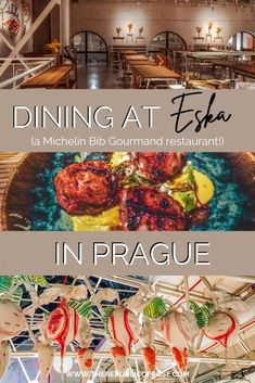 Looking for a dinner spot in Prague? Eska has delicious dishes, a trendy vibe and was rated as a Bib Gourmand by Michelin! Prague Food, Delicious Dishes, Yummy Food, Visit Prague, Prague Travel, Travel Guides, Travel Tips, The Republic, Foodie Travel