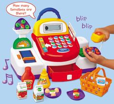 Lakeshore's Let's Go Shopping! Cash Register is a #greatgiftforkids!