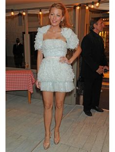 Blake Lively @ Chanel Dinner (2011) in Chanel s/s 2010-collection