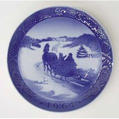 1958 Royal Copenhagen Christmas Plate Greenland by Royal ...