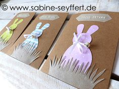 Easter Bunny, Place Cards, Place Card Holders, Spring, Blog, Basket, Inspiration, Card Crafts, Happy Easter