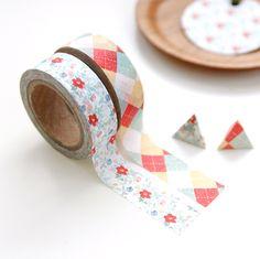 Pattern Masking Tape Set 02