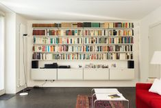 606 Universal Shelving System designed by Dieter-Rams Vitsoe-Remodelista. Wall Shelving Systems, Wall Shelves, Alcove Shelving, Office Shelving, Modular Shelving, Mounted Shelves, Storage Shelves, Dieter Rams, Living Area