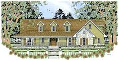 Country Style House Plans - 1775 Square Foot Home, 1 Story, 3 Bedroom and 2 3 Bath, 2 Garage Stalls by Monster House Plans - Plan 75-312