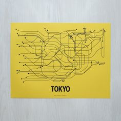 Tokyo Poster // Line Posters