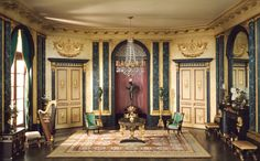 Mrs. James Ward, Thorne miniature period rooms. French Anteroom of the Empire Period, c. 1810 | The Art Institute of Chicago