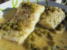 La Juani de Ana Sevilla: Bacalao en salsa verde de gambas