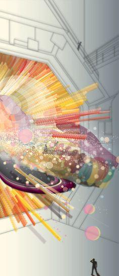 Whimsical World of Laura Bird: Artist Spotlight - Linza Feldman Geometric Form, All Things Cute, Digital Illustration, Artsy Fartsy, Spotlight, Whimsical, Digital Art, The Incredibles, Bird