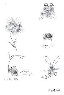 Chinmaya Vrindavan Toddlers: Thumbprint Art