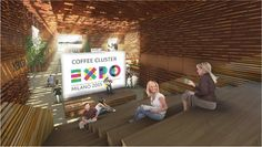 Coffee Cluster - The Engine of Ideas, Milan, Expo Milano 2015