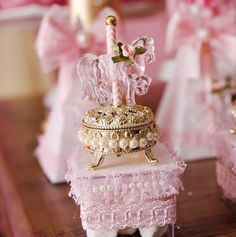 Gold Boxes with Carousel Horse Kylie Birthday, Girl Birthday Themes, Little Girl Birthday, Third Birthday, Birthday Parties, Girl Shower, Baby Shower, Carousel Cake, Carnival Themes