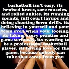 I ❤ basketball imagine saying this to your team before your last game. Basketball Motivation, Basketball Is Life, Basketball Workouts, Basketball Season, Sports Basketball, Basketball Players, Basketball Stuff, Basketball Sayings, Funny Basketball Memes