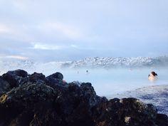 Blue lagoon geo thermal pool- January- Beautiful Iceland-