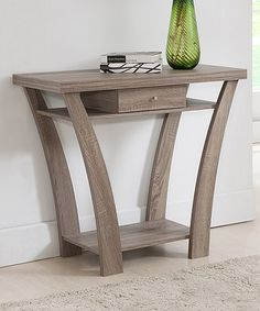 Look what I found on #zulily! Light Oak Benji Console Table #zulilyfinds