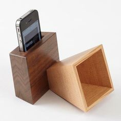 iPhone Amplifier #iphone #woodworking