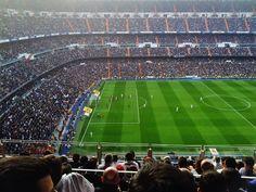 From blog of our intern. Real Madrid - Barcelona @ Santiago Bernabéu   http://www.spain-internship.com