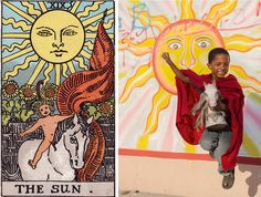 Supernatural Tarot Cards Reimagined In The Slums Of Haiti