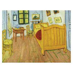 Vincent van Gogh - De slaapkamer - Google Art Project - Bedroom in ...