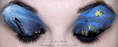 Little Mermaid Eyes by KatieAlves.deviantart.com on @deviantART