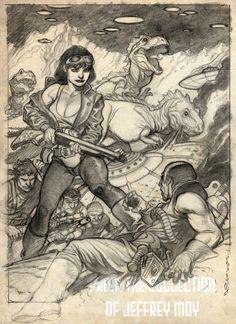 Mark Schultz Prelim 05 Comic Art