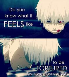 Tokyo Ghoul Quote Anime