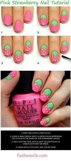 Best and Easy Nail Art Designs for Beginners Amazing Tutorials – – nageldesign. Nail Art For Kids, New Nail Art, Nail Art Diy, Cool Nail Art, Diy Nails, Cute Nails, Diy Art, Diy Nail Designs, Simple Nail Art Designs