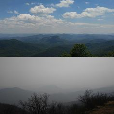 Western NC and the Smokies/Appalachians are on fire. 2016