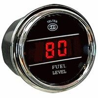 Fuel Level Gauge for Trucks Product Description  The Truck Fuel Gauge accurately displays level of fuel in the gas tank of your truck or tractor.  Teltek USA gauges are best in class and backed by over 20 years of design and manufacturing.  Details      Made in the USA and secured with a Lifetime Warranty     For ISSPRO type sensors and RA9200 Series 240 OHM – 330 OHM     Pre-calibrated for the ISSPRO Tank Sensor RA9200 series     Range: 0 - 100%     The display will shortly flash a low fuel…