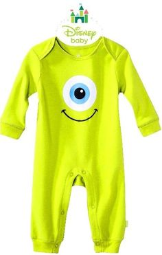new! #disney #baby pixar monsters inc u mike costume toddler one piece bodysuit 3m from $30.11