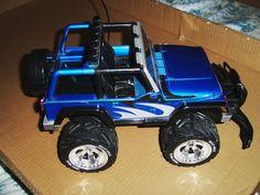 Nikko Jeep Rubicon Wrangler RC Radio Control Vehicle W/Battery No Charger/Remote #Nikko