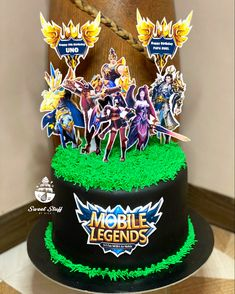 Printed mobile legends Characters