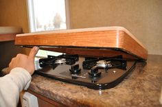 My forst PodMod: Cooktop Cover/Cutting Board Cover - r-pod Nation Forum - Page 1