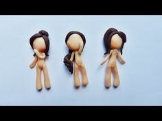 ♦ POLYMER CLAY CHIBI SERIES 3/3 | The Hair (2) - YouTube