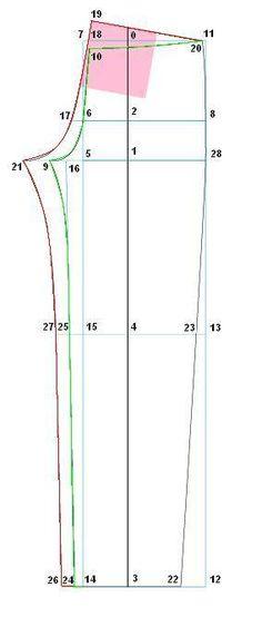 pant draft pattern drafting by height Sewing Pants, Sewing Clothes, Diy Clothes, Techniques Couture, Sewing Techniques, Pattern Cutting, Pattern Making, Diy Pantalon, Boho Hose