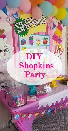 Mrs. Sheets & Co.: DIY Shopkins Birthday Party