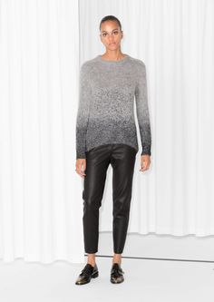 & Other Stories | Metallic Mohair-Blend Sweater