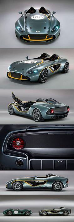 #Aston_Martin #CC100 #Speedster #Car #SportCar #Race #Concept