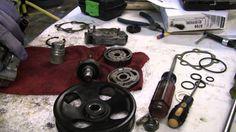 http://www.strictlyforeign.biz/default.asp 2002 Nissan Xterra VG33E Rebuild Step by Step Part 60 - Power Steering P...