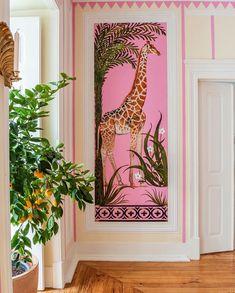 At Home With: Filipa de Abreu, Lisbon :: This Is Glamorous Interior Walls, Decor Interior Design, Interior And Exterior, Interior Decorating, Eclectic Decor, Home Decor Inspiration, Gallery Wall, House Design, Instagram