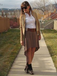 #FranniePantz: Threesome Thursdays--Mullet Skirt  Mullet Skirts #2dayslook #new style #MulletSkirtsfashion  www.2dayslook.com