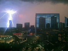 Electric Storm in Paris - France