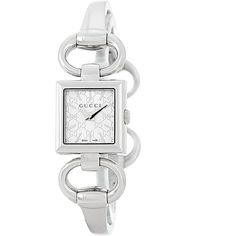 ddaf84a7df2 GUCCI Women s Tornabuoni Bangle Watch ( 450) ❤ liked on Polyvore featuring  jewelry