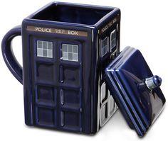 TARDIS Mug    (Warning: NOT bigger on the inside than the outside)