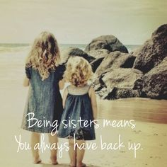 Top Inspiring Quotes about Sisters & best sister quotes sweets Cute Sister Quotes, Little Sister Quotes, Sister Birthday Quotes, Love My Sister, Best Sister, Little Sisters, To My Daughter, Brother Sister, Daughters