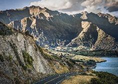 Góry, Droga, Jezioro