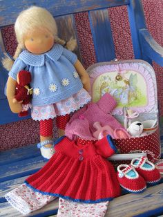 What a sweet doll playset!