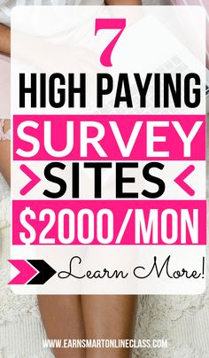 Need money now? Why not take paid online surveys and make cash quick! This list has 16 online surveys for money that you can take advantage of today. Work From Home Careers, Online Jobs From Home, Work From Home Tips, Make Money From Home, Way To Make Money, Online Surveys For Money, Online Income, Earn Money Online, Online Business Opportunities