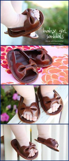 b41810e87e4 55+ DIY Baby Shoes with Free Patterns and Tutorials